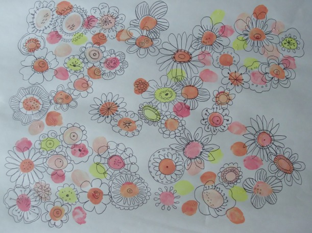 thumbprint flowers ii